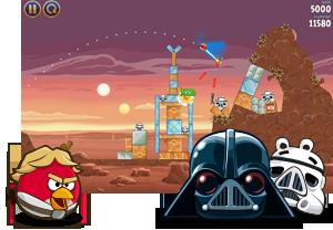Скачать Angry Birds Star Wars