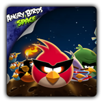 Флеш-часы Angry Birds Space