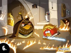 Angry Birds Star Wars комикс
