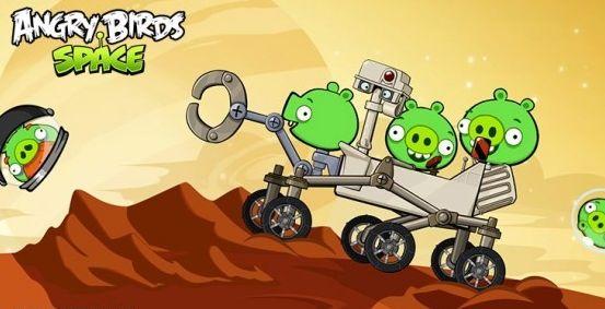 Вышло обновление для Angry Birds Space