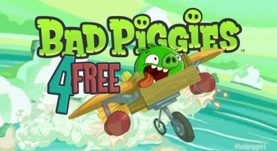 Вышла бесплатная версия Bad Piggies