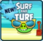 Как пройти Angry Birds эпизод Surf and Turf