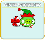 Как пройти Angry Birds Seasons эпизод Winter Wonderham