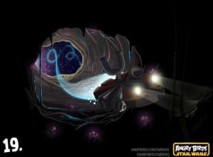 Выходит обновление для Angry Birds Star Wars