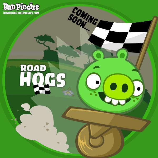 Скоро выйдет очередное обновление для Bad Piggies