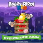 Прохождение эпизода Market Mayhem из Angry Birds Rio