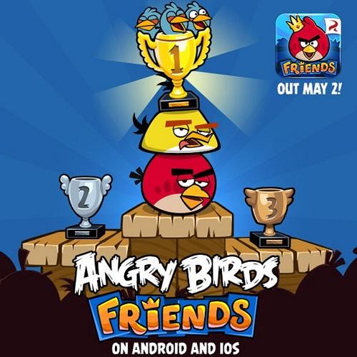 Angry Birds Friends выходят 2 мая на iOS и Android