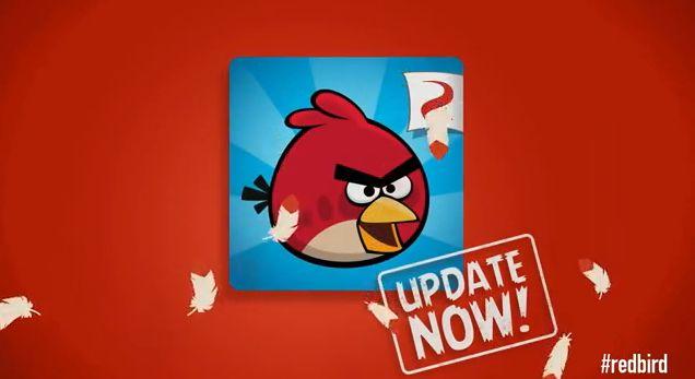 Новый эпизод Red's Mighty Feathers в оригинальной игре Angry Birds