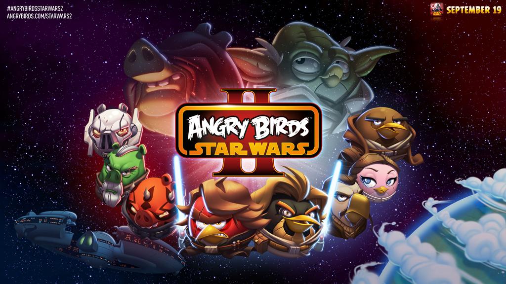 Rovio анонсировала выход новой игры Angry Birds Star Wars II