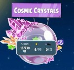 Как пройти Angry Birds Space эпизод Cosmic Crystals