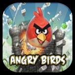 Флеш-часы Angry Birds