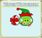 Как пройти Angry Birds Seasons эпизод Winter Wonderham