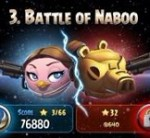 Прохождение Angry Birds Star Wars 2 эпизод Battle of Naboo на 3 звезды